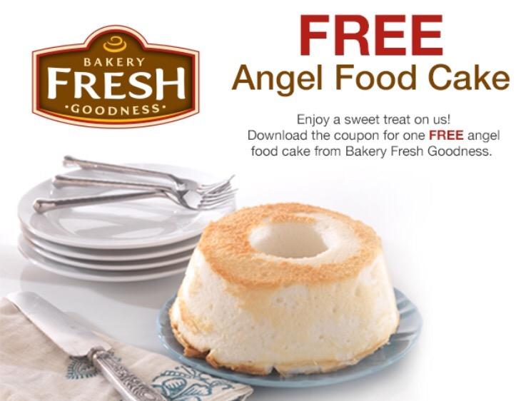 Kroger Free Angel Food Cake